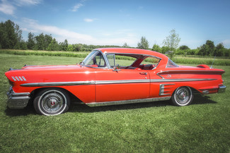 1958 Chevy Impala Chrome Newberg, Oregon 9