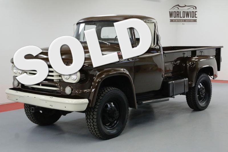 1958 Dodge POWER WAGON W300. RESTORED. HIGH DOLLAR. TURBO DIESEL | Denver, CO | Worldwide Vintage Autos