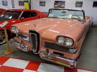 1958 Edsel Pacer Conv -Utah Showroom Newberg, Oregon