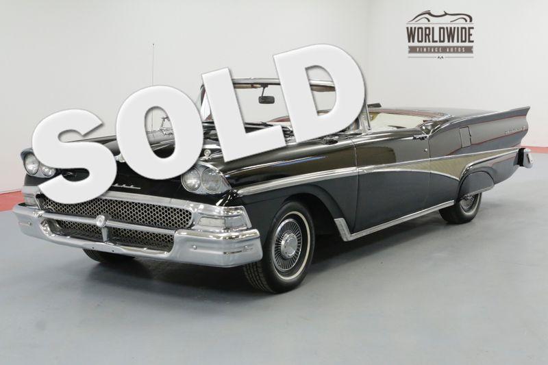 1958 Ford FAIRLANE RETRACTABLE HARD TOP CONVERTIBLE V8 | Denver, CO | Worldwide Vintage Autos