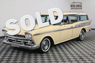 1959 Amc RAMBLER ORIGINAL INTERIOR 327 V8 AUTO  PS PB | Denver, Colorado | Worldwide Vintage Autos in Denver Colorado