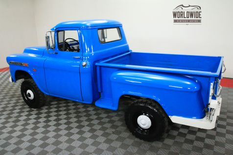 1959 Chevrolet 3100 FACTORY NAPCO V8 POWER BRAKES 4-SPEED | Denver, CO | Worldwide Vintage Autos in Denver, CO