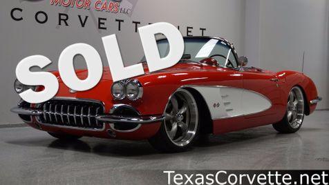 1959 Chevrolet Corvette Convertible Pro Touring | Lubbock, Texas | Classic Motor Cars in Lubbock, Texas