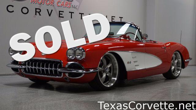1959 Chevrolet Corvette Convertible Pro Touring | Lubbock, Texas | Classic Motor Cars