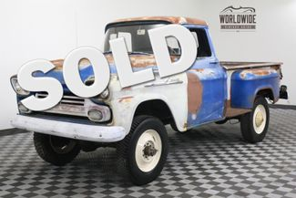 1959 Chevrolet 3100 ULTRA RARE 3/4 TON NAPCO CA TRUCK V8 RARE | Denver, Colorado | Worldwide Vintage Autos in Denver Colorado