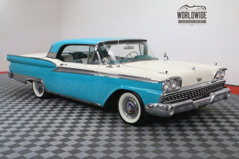 1959 Ford GALAXIE 500 SKYLINER HARD TOP CONVERTIBLE AUTOMATIC V8 | Denver, Colorado | Worldwide Vintage Autos in Denver, Colorado