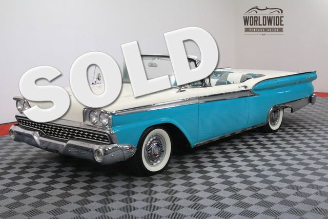 1959 Ford GALAXIE 500 SKYLINER HARD TOP CONVERTIBLE AUTOMATIC V8 | Denver, Colorado | Worldwide Vintage Autos