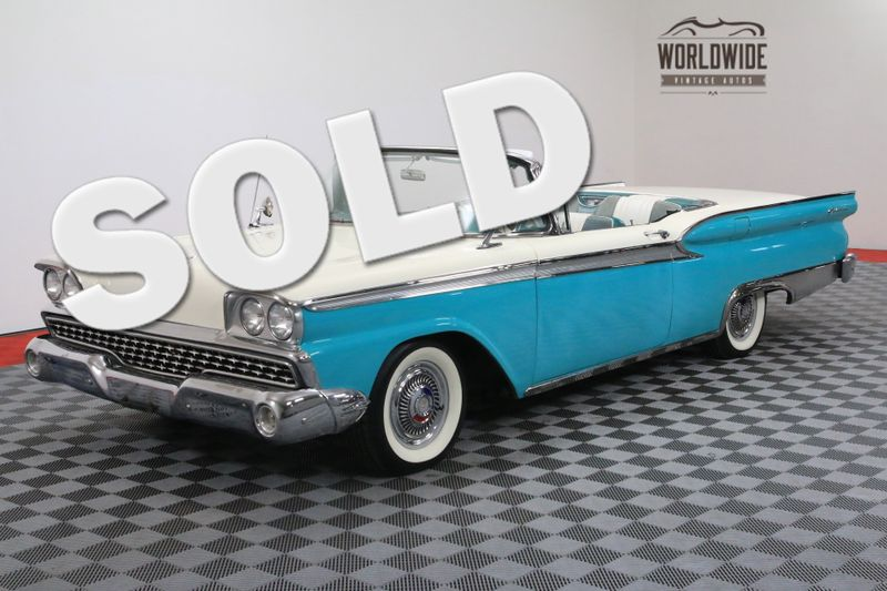 1959 Ford GALAXIE 500 SKYLINER HARD TOP CONVERTIBLE AUTOMATIC V8 | Denver, CO | Worldwide Vintage Autos