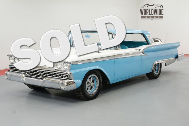 1959 Ford FAIRLANE GALAXIE 500 RESTORED CONTINENTAL KIT COLD AC | Denver, CO | Worldwide Vintage Autos