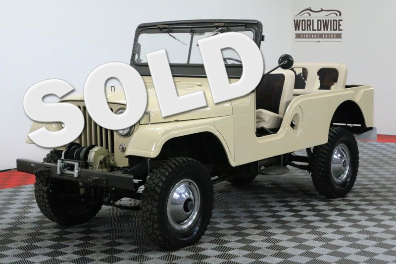1959 Jeep CJ6 $30+ RESTORATION SHOW QUALITY CJ7 CJ5 WILLYS | Denver, CO | Worldwide Vintage Autos