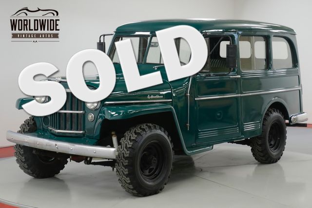 1959 Jeep WILLYS WAGON EXTREMELY CLEAN  4X4  NEW PAINT MUST