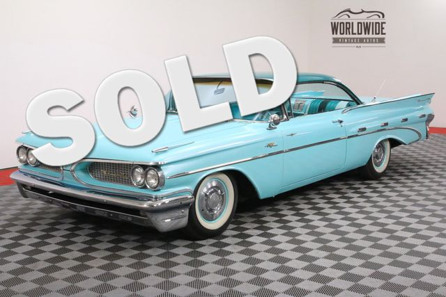 1959 Pontiac BONNEVILLE 389 TRI-POWER SUPER HYDROMATIC | Denver, CO | WORLDWIDE VINTAGE AUTOS