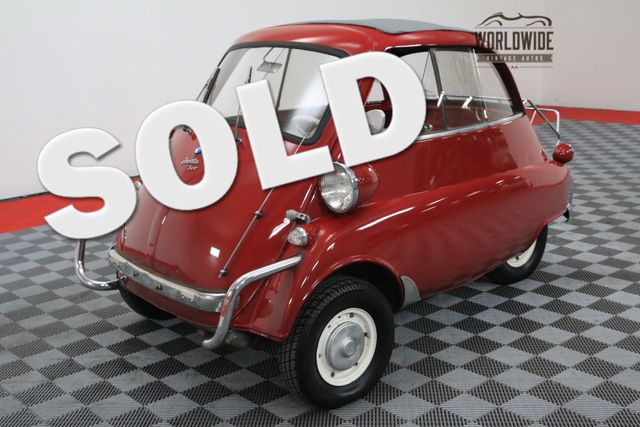 1960 BMW ISETTA 300 RARE REBUILT MOTOR SUNROOF LUGGAGE RACK | Denver, Colorado | Worldwide Vintage Autos