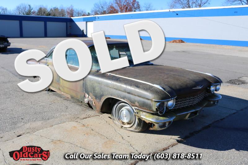 1960 Cadillac DeVille Sedan Parts Car Engine Trans Glass Chrome in Nashua NH