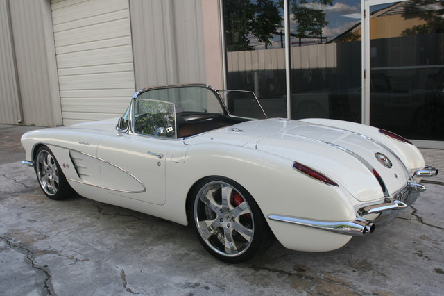 1960 Chevy Corvette Convt Restomod Custom Houston, Texas 18