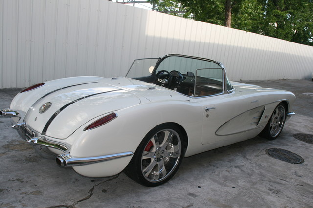 1960 Chevy Corvette Convt Restomod Custom Houston, Texas 20