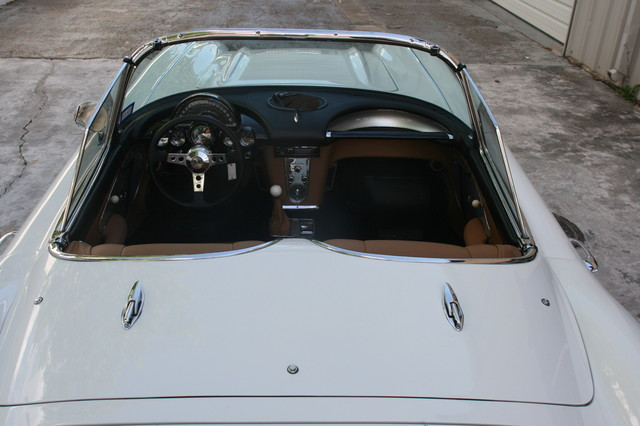 1960 Chevy Corvette Convt Restomod Custom Houston, Texas 22
