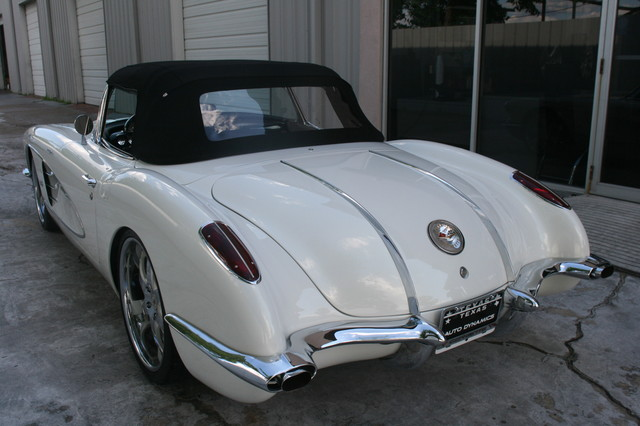 1960 Chevy Corvette Convt Restomod Custom Houston, Texas 29