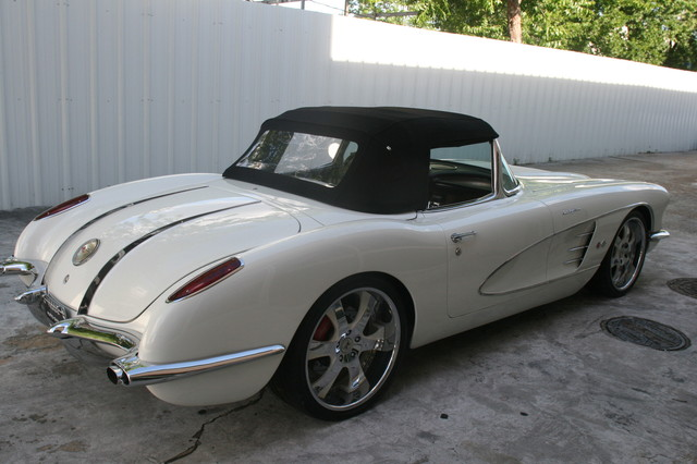 1960 Chevy Corvette Convt. V8 Convt Restomod Custom Houston, Texas 30