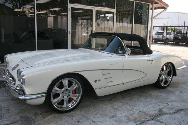 1960 Chevy Corvette Convt Restomod Custom Houston, Texas 32
