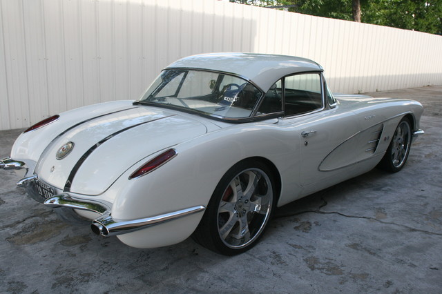 1960 Chevy Corvette Convt Restomod Custom Houston, Texas 8