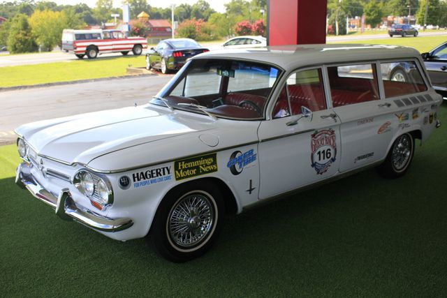 1962 Chevrolet Corvair Monza Station Wagon - THE GREAT RACE #116 Mooresville , NC 23