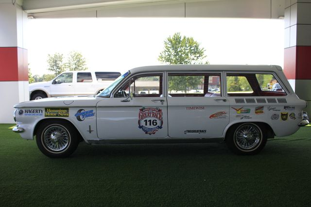 1962 Chevrolet Corvair Monza Station Wagon - THE GREAT RACE #116 Mooresville , NC 14