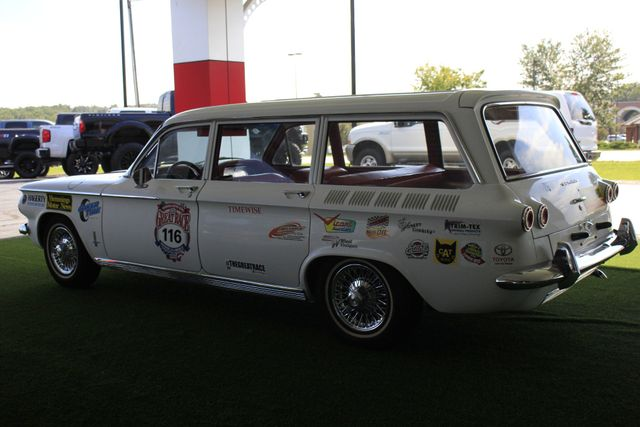 1962 Chevrolet Corvair Monza Station Wagon - THE GREAT RACE #116 Mooresville , NC 25