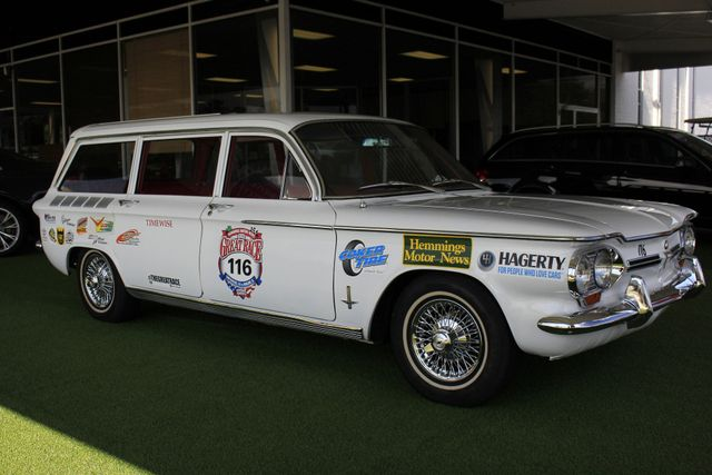 1962 Chevrolet Corvair Monza Station Wagon - THE GREAT RACE #116 Mooresville , NC 22