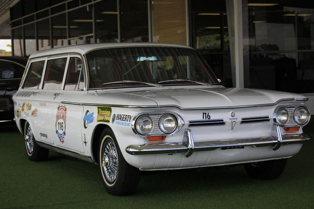 1962 Chevrolet Corvair Monza Station Wagon - THE GREAT RACE #116 Mooresville , NC 26