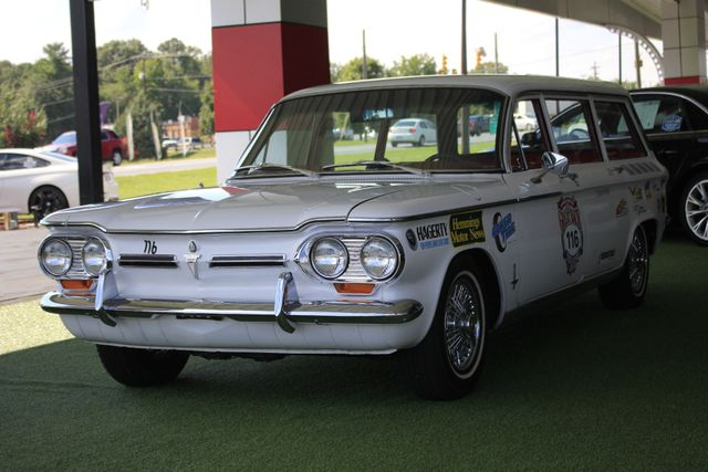 1962 Chevrolet Corvair Monza Station Wagon - THE GREAT RACE #116 Mooresville , NC 27