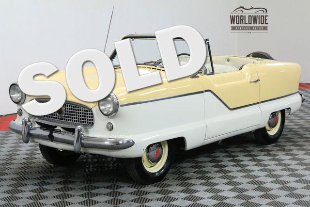 1960 Metropolitan NASH CONVERTIBLE TWO TONE 4 CYLINDER MUST SEE | Denver, CO | WORLDWIDE VINTAGE AUTOS