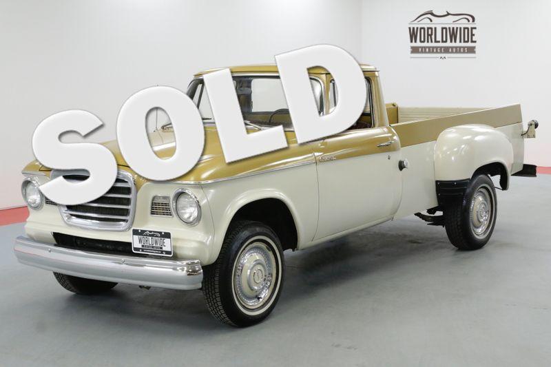 1960 Studebaker CHAMP PICK UP VERY RARE ORIGINAL V8 COLLECTOR | Denver, CO | Worldwide Vintage Autos