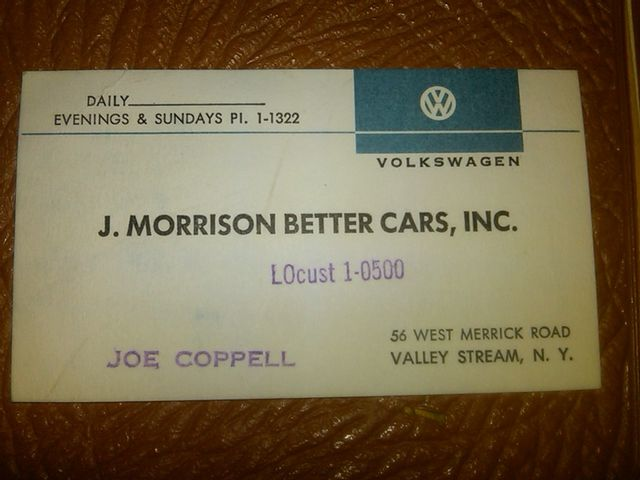 1960 Volkswagen TYPE 1 DOCUMENTED EUROPEAN DELIVERY Phoenix, Arizona 10