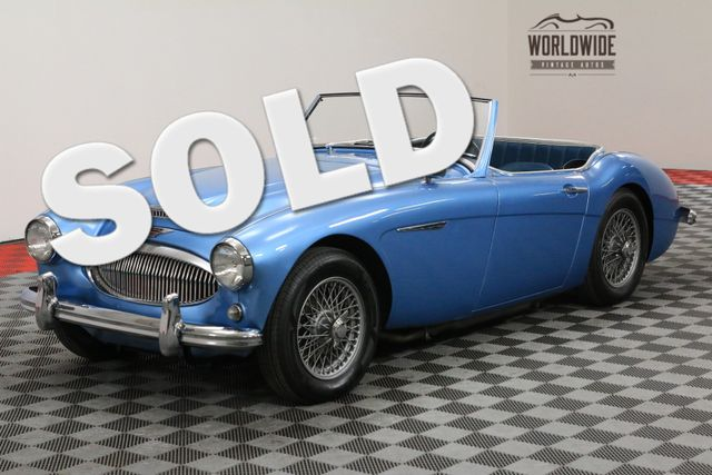 1962 Austin Healey 3000 RESTORED SHOW ROOM CONDITION EXTREMELY RARE | Denver, CO | WORLDWIDE VINTAGE AUTOS