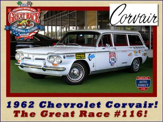 1962 Chevrolet Corvair Monza Station Wagon - THE GREAT RACE #116 Mooresville , NC