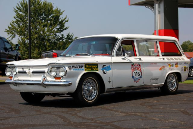 1962 Chevrolet Corvair Monza Station Wagon - THE GREAT RACE #116 Mooresville , NC 33