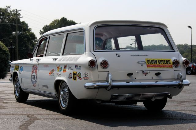 1962 Chevrolet Corvair Monza Station Wagon - THE GREAT RACE #116 Mooresville , NC 39