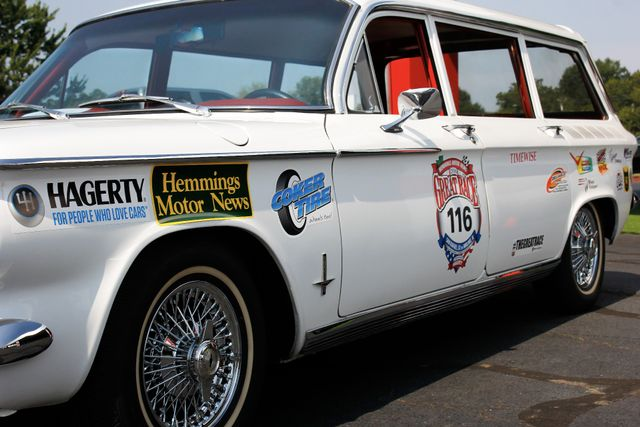 1962 Chevrolet Corvair Monza Station Wagon - THE GREAT RACE #116 Mooresville , NC 28