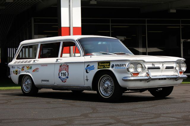 1962 Chevrolet Corvair Monza Station Wagon - THE GREAT RACE #116 Mooresville , NC 32