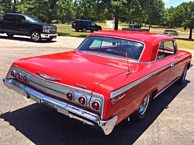 1962 Chevrolet IMAPALA SS SUPER SPORT RedLineMuscleCars.com, Oklahoma 3