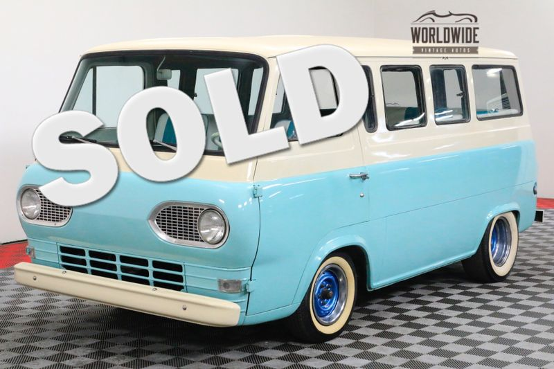 1962 Ford ECONOLINE RARE SEATS 7 INLINE 6 CYL. 3-SPEED MANUAL | Denver, CO | WORLDWIDE VINTAGE AUTOS