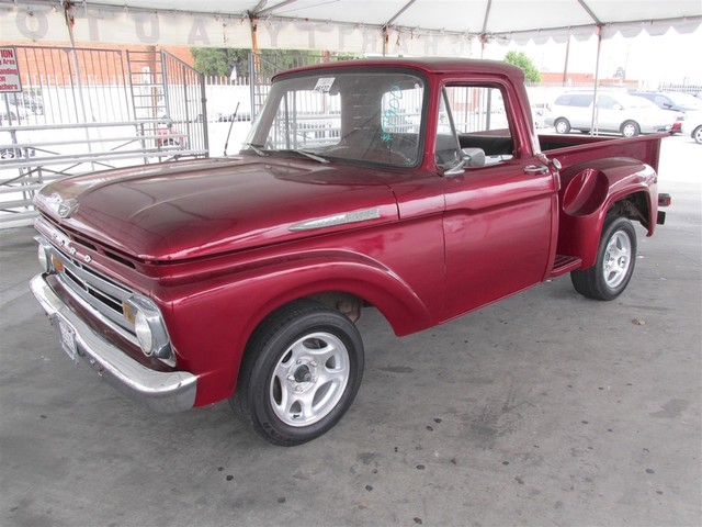 1962 Ford F100 This particular Vehicles true mileage is unknown TMU Please call or e-mail to c