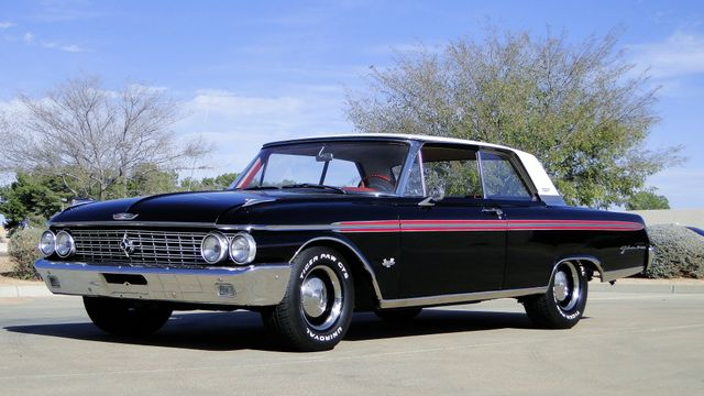 1962 Ford GALAXIE 500 390cu WITH OVERDRIVE TV STAR CAR! Phoenix, Arizona 4
