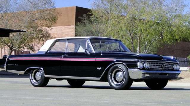 1962 Ford GALAXIE 500 390cu WITH OVERDRIVE TV STAR CAR! Phoenix, Arizona 29