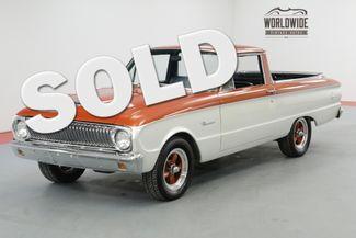 1962 Ford RANCHERO FRAME OFF RESTORED $28K+ BUILD 302 V8 PB | Denver, CO | Worldwide Vintage Autos in Denver CO
