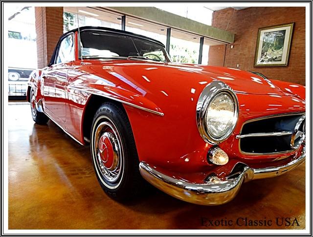 1962 Mercedes-Benz 190SL SL San Diego, California 13