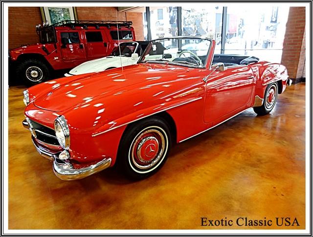 1962 Mercedes-Benz 190SL SL San Diego, California 25