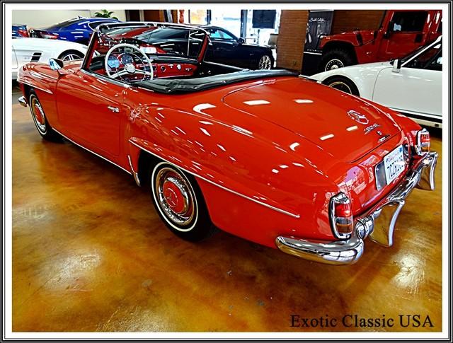 1962 Mercedes-Benz 190SL SL San Diego, California 26
