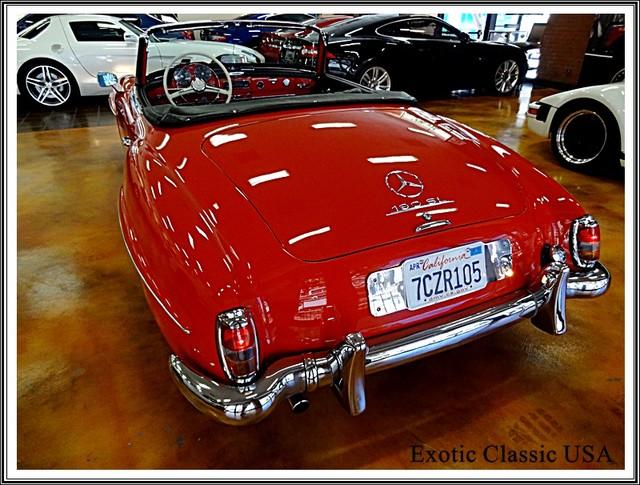 1962 Mercedes-Benz 190SL SL San Diego, California 28